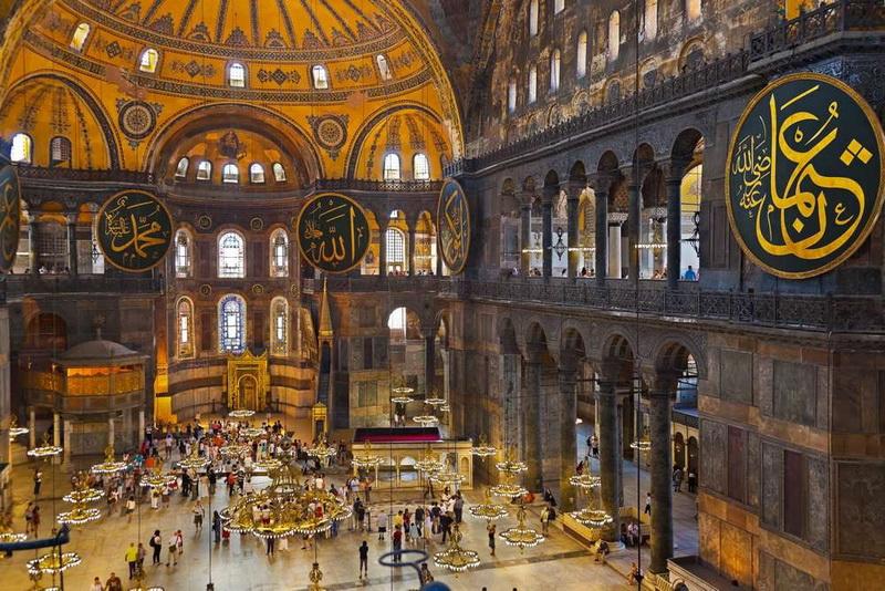 بازدید از موزه یا مسجد ایاصوفیه استانبول