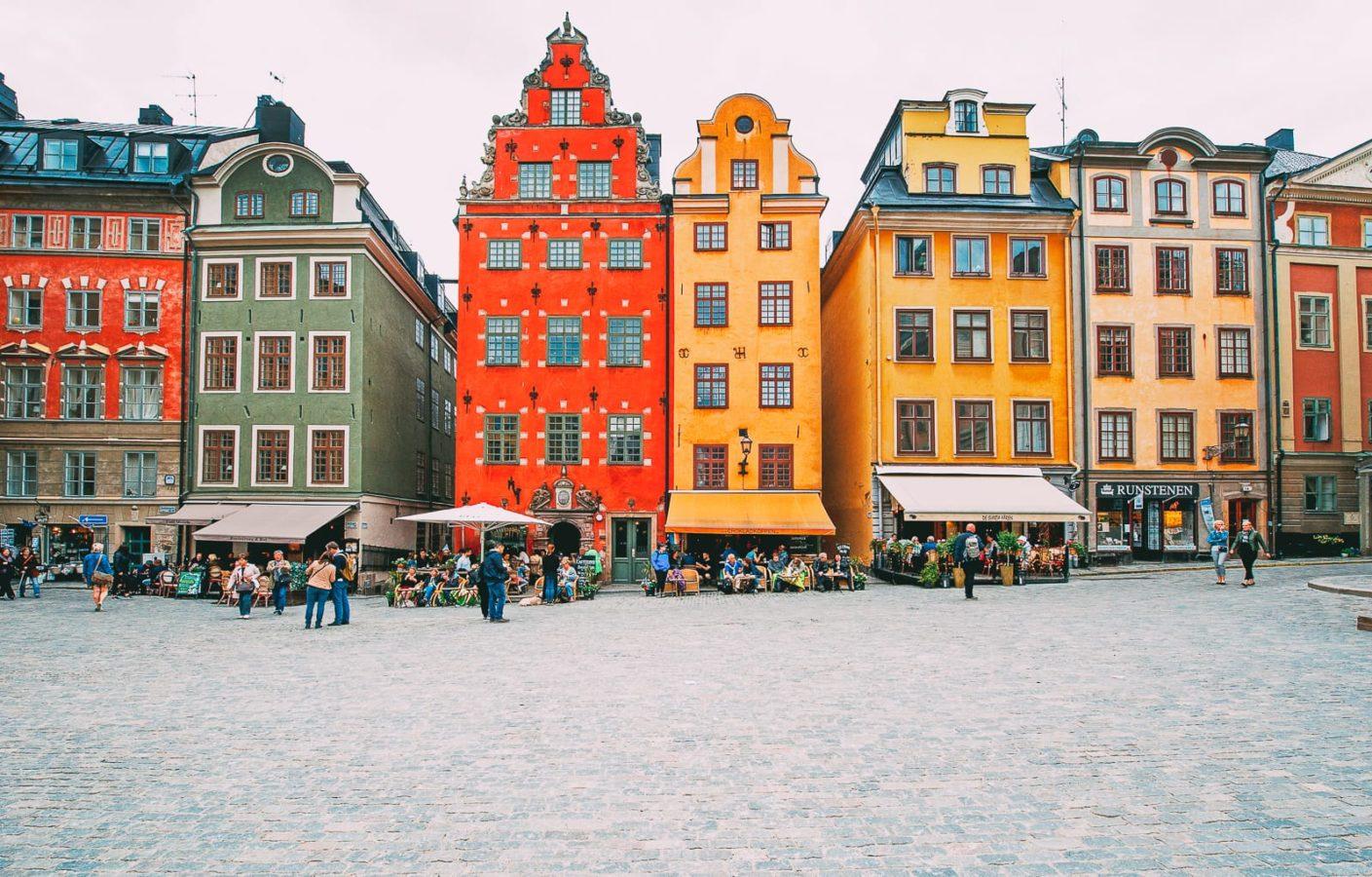 سفر تنها استکهلم سوئد