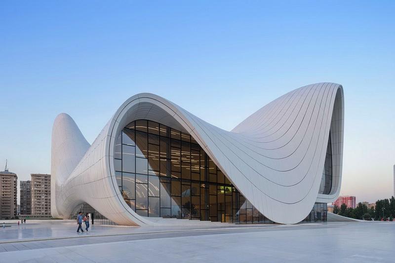 زاها حدید معماری آذربایجان