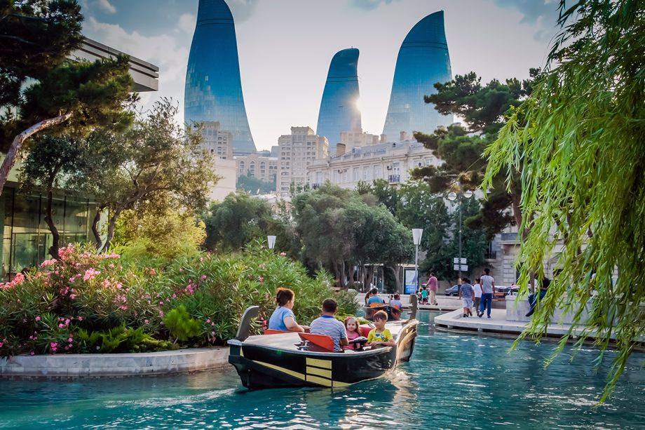 معماری شگفت انگیز باکو